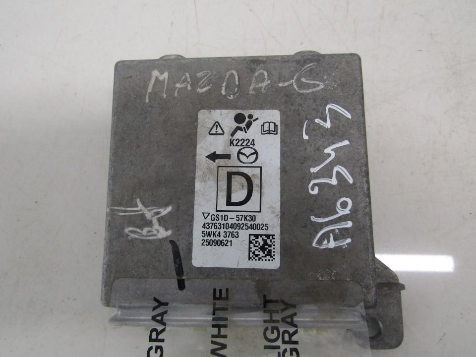 Airbag crash sensors module Mazda 6 2008    2.0 5WK43763