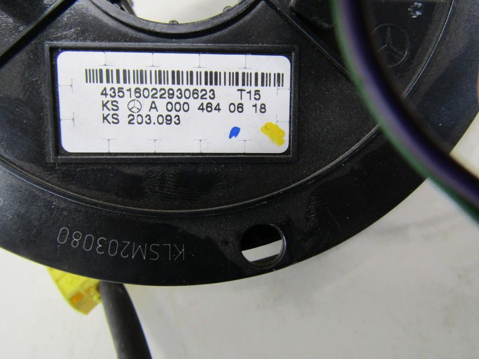 A2095400145 A2095400145,9B51, Airbag Slip Squib Ring Mercedes-Benz C-CLASS 2002 2.7L 36EUR EIS01139538