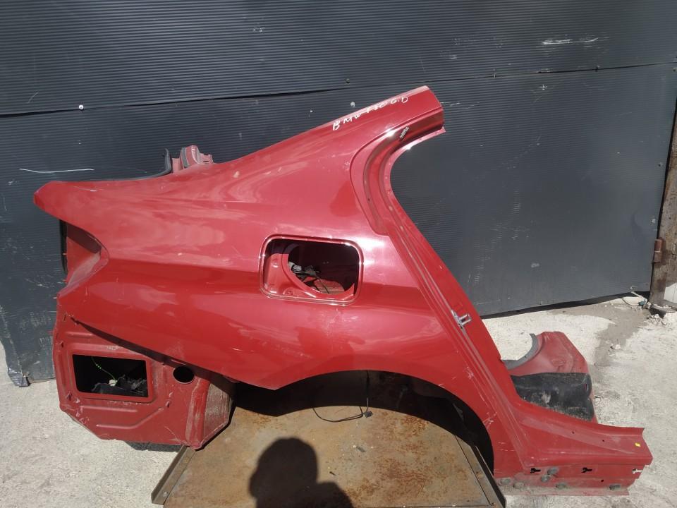 Ketvirtis G.D. BMW 3-Series 2011    0.0 raudona