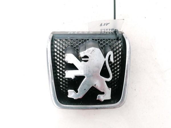 Priekinis zenkliukas (Emblema) Peugeot 406 1998    2.0 9623832877