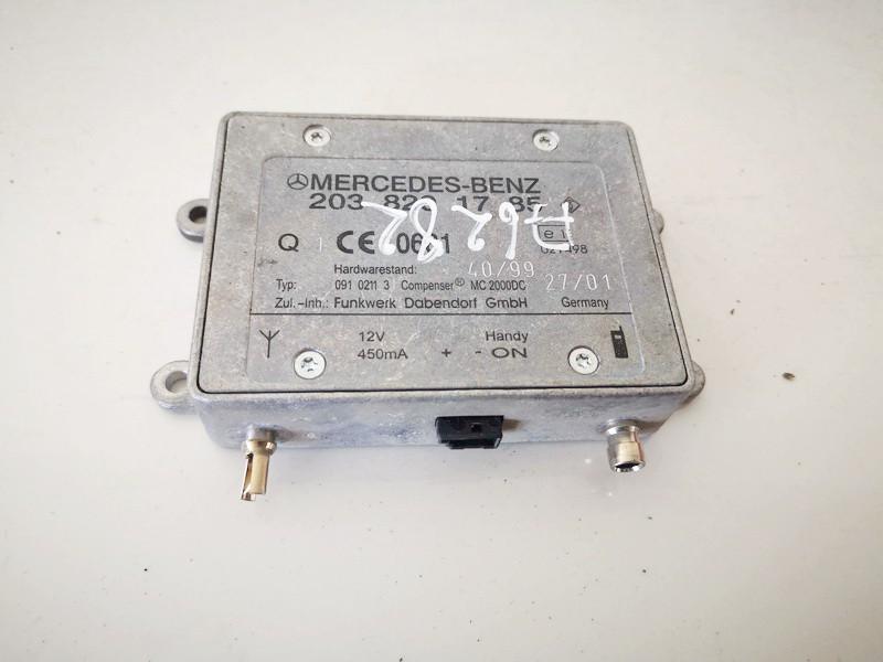 Kiti kompiuteriai Mercedes-Benz A-CLASS 2001    1.7 2038201785