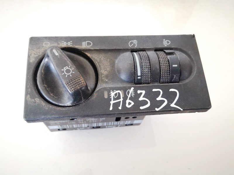 Headlight adjuster switch (Foglight Fog Light Control Switches) Volkswagen Vento 1997    1.9 1h6941531p