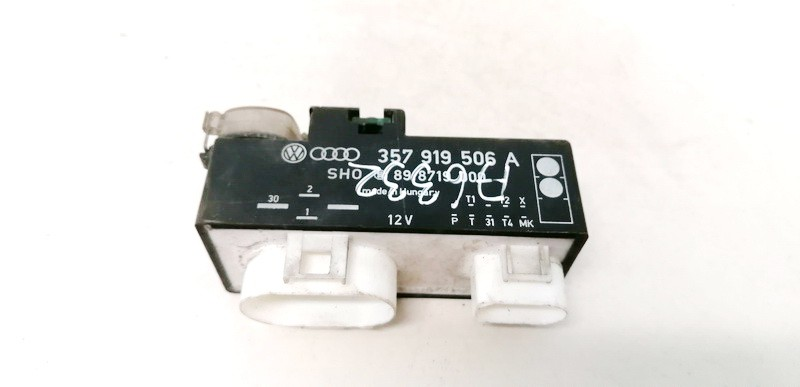 Ventiliatoriaus valdymo rele Volkswagen Vento 1997    1.9 357919506A
