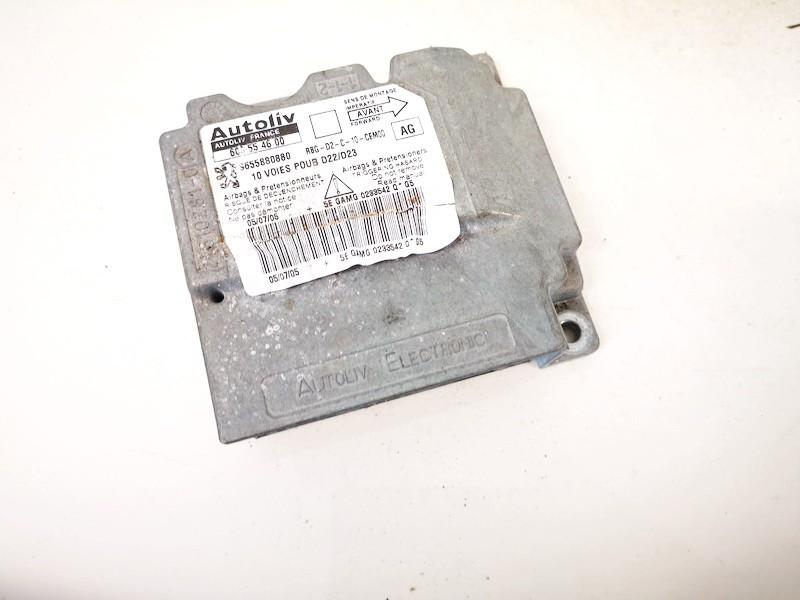 Airbag crash sensors module Peugeot 407 2005    2.0 9655880880