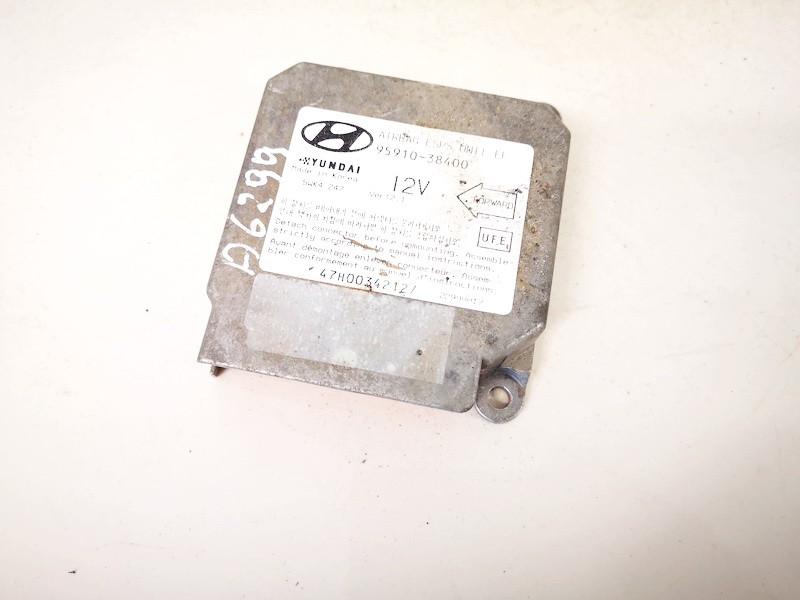 SRS AIRBAG KOMPIUTERIS - ORO PAGALVIU VALDYMO BLOKAS Hyundai Sonata 1999    2.0 9591038400