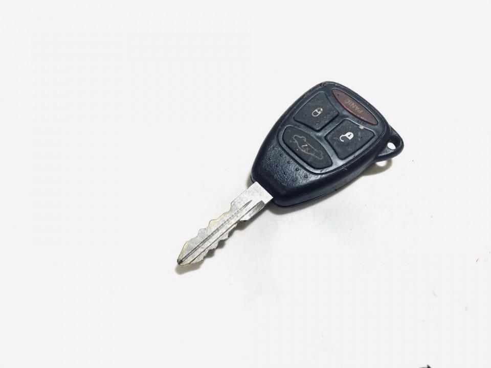 Uzvedimo raktas Jeep Grand Cherokee 2007    0.0 05183349aa