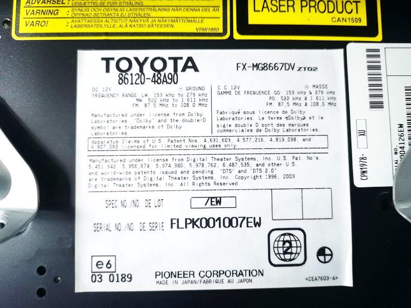 Automagnetola Lexus RX - CLASS 2008    0.0 8612048a90