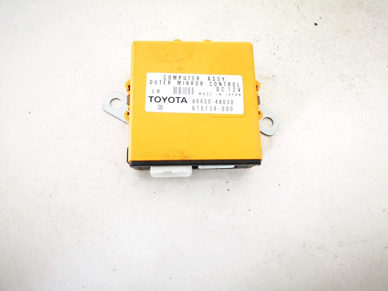 Other computers Lexus RX - CLASS 2007    0.0 8943048030