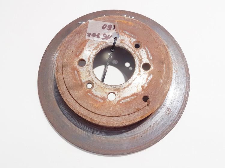 Galinis stabdziu diskas Peugeot 406 1999    2.0 neventiliuojamas