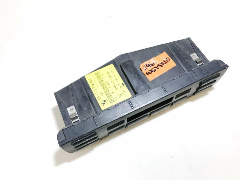 Peciuko valdymas BMW 3-Series 2001    1.8 64116919784