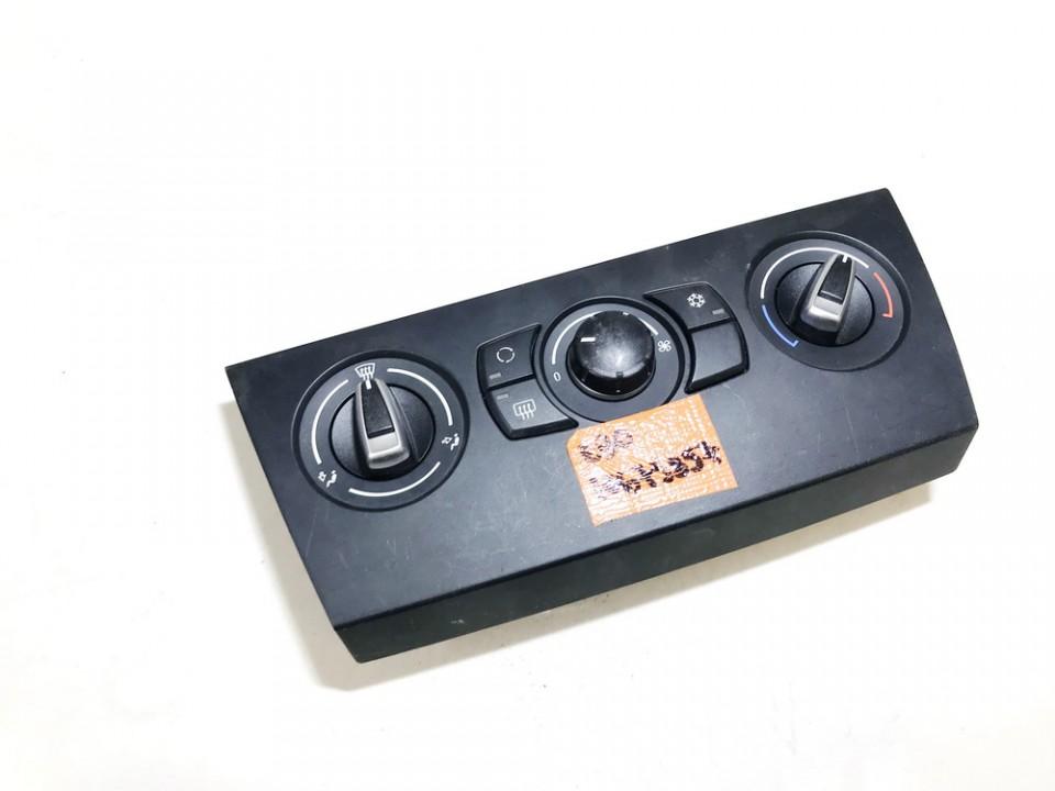 Peciuko valdymas BMW 3-Series 2007    0.0 64119190923