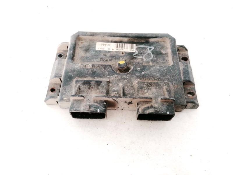 ECU Engine Computer (Engine Control Unit) Citroen Berlingo 2001    1.9 9839587680