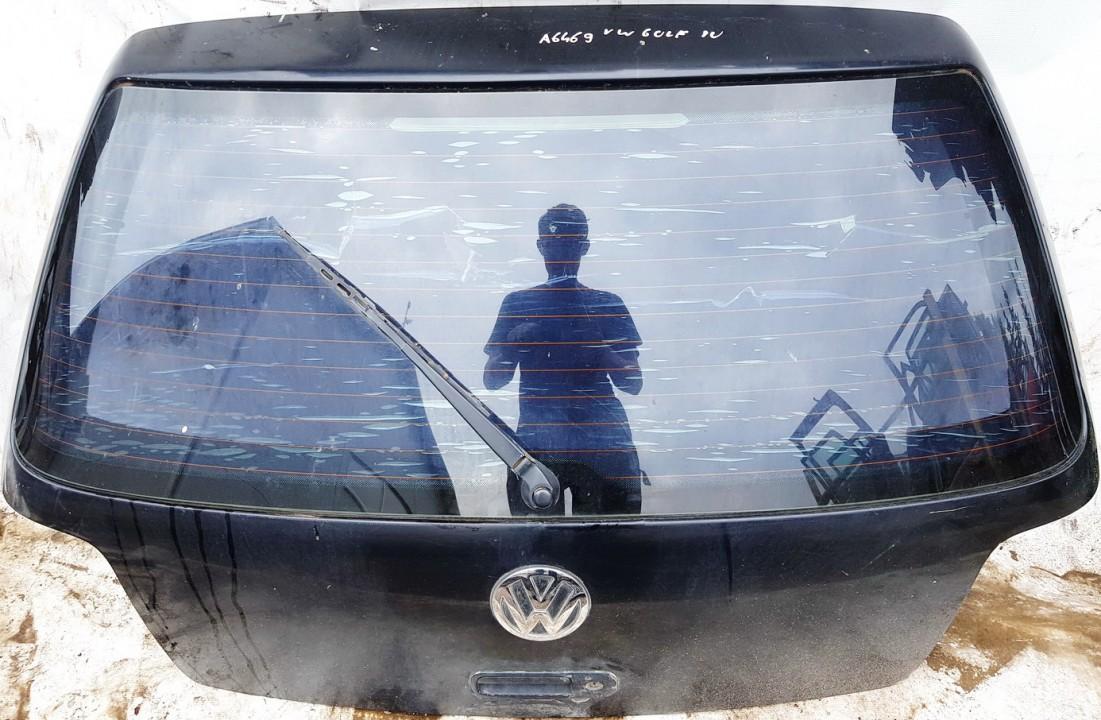 Galinis dangtis G (kapotas) Volkswagen Golf 1998    1.6 juoda