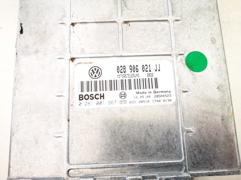 ECU Engine Computer (Engine Control Unit) Volkswagen Sharan 2000    1.9 028906021jj