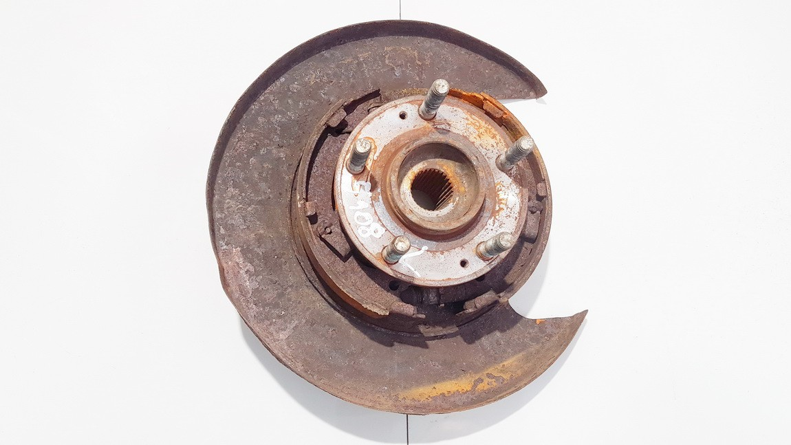 Stabdziu disko apsauga galine kaire (G.K.) Hyundai Santa Fe 2007    2.2 used
