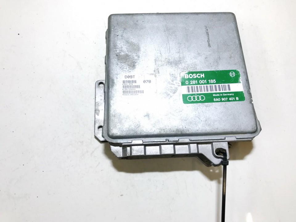 ECU Engine Computer (Engine Control Unit) Audi 80 1993    1.9 0281001185