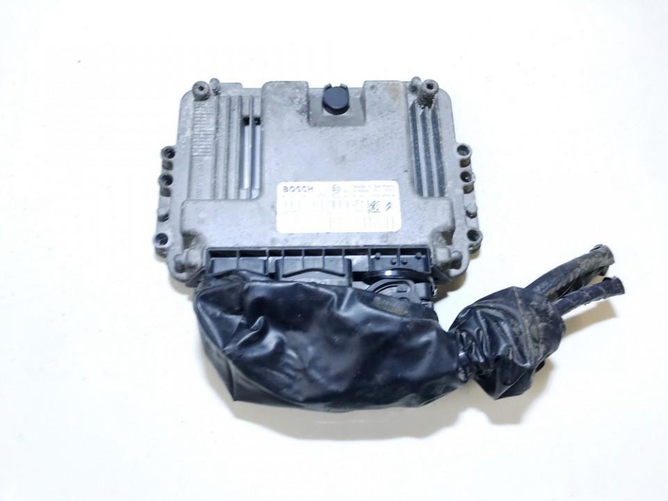 ECU Engine Computer (Engine Control Unit) Citroen Xsara Picasso 2005    1.6 0281011233