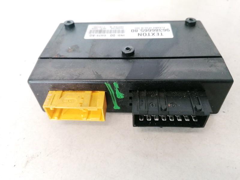 Komforto blokas Citroen Evasion 1999    2.0 9638666580