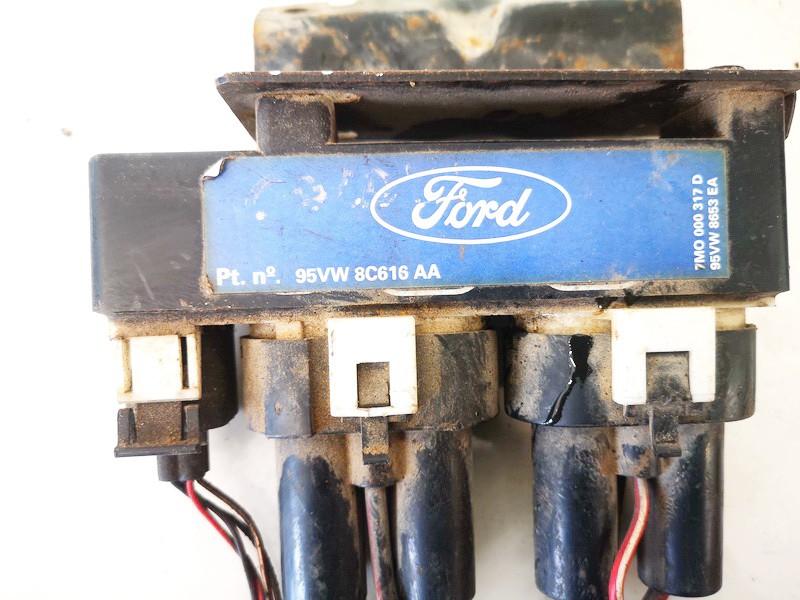 Blower Fan Regulator (Fan Control Switch Relay Module)  Volkswagen Sharan 2000    1.9 95vw8c616aa