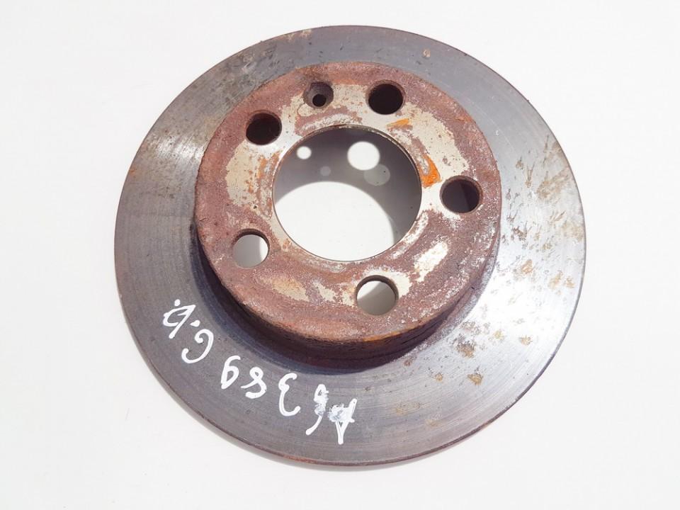 Galinis stabdziu diskas Volkswagen Bora 2002    1.9 neventiliuojamas