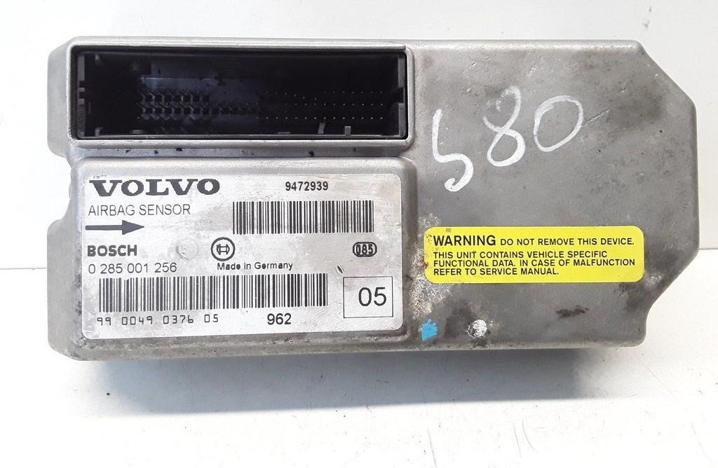 SRS AIRBAG KOMPIUTERIS - ORO PAGALVIU VALDYMO BLOKAS Volvo S80 1999    2.5 0285001256