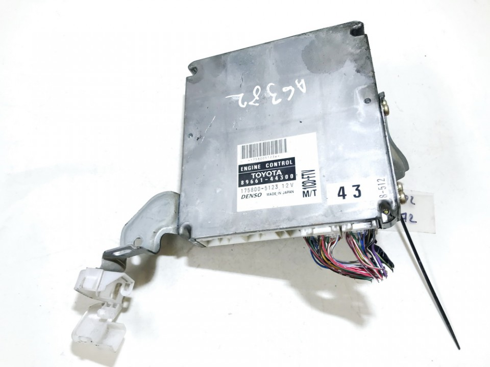 ECU Engine Computer (Engine Control Unit) Toyota Avensis Verso 2002    2.0 8966144300