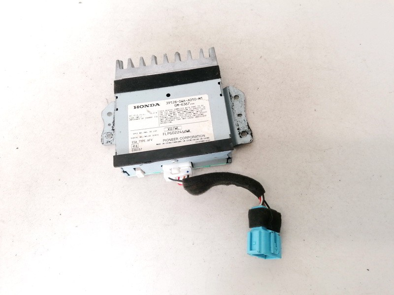 Audio amplifier (Radio Stereo Amplifier) Honda CR-V 2006    0.0 39128swaa010m1