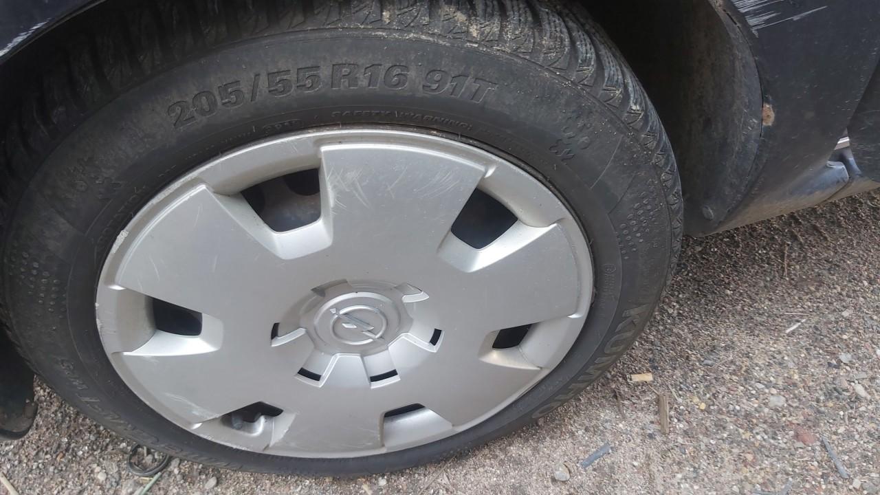Skardiniu ratu komplektas R16 Opel Zafira 2006    1.9 used