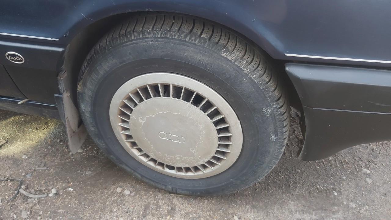 Skardiniu ratu komplektas R14 Audi 80 1990    1.8 used