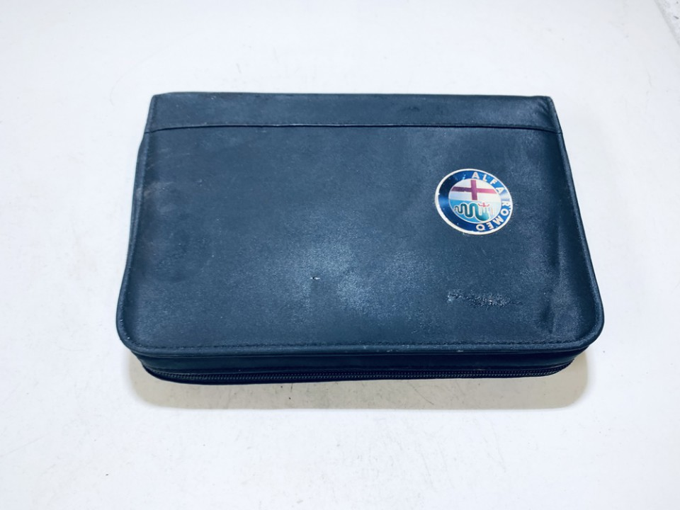 Manual Handbook Wallet (service manual) Alfa-Romeo 156 2004    2.4 used