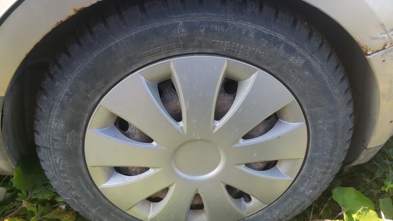 Skardiniu ratu komplektas R16 Ford C-MAX 2005    1.6 used