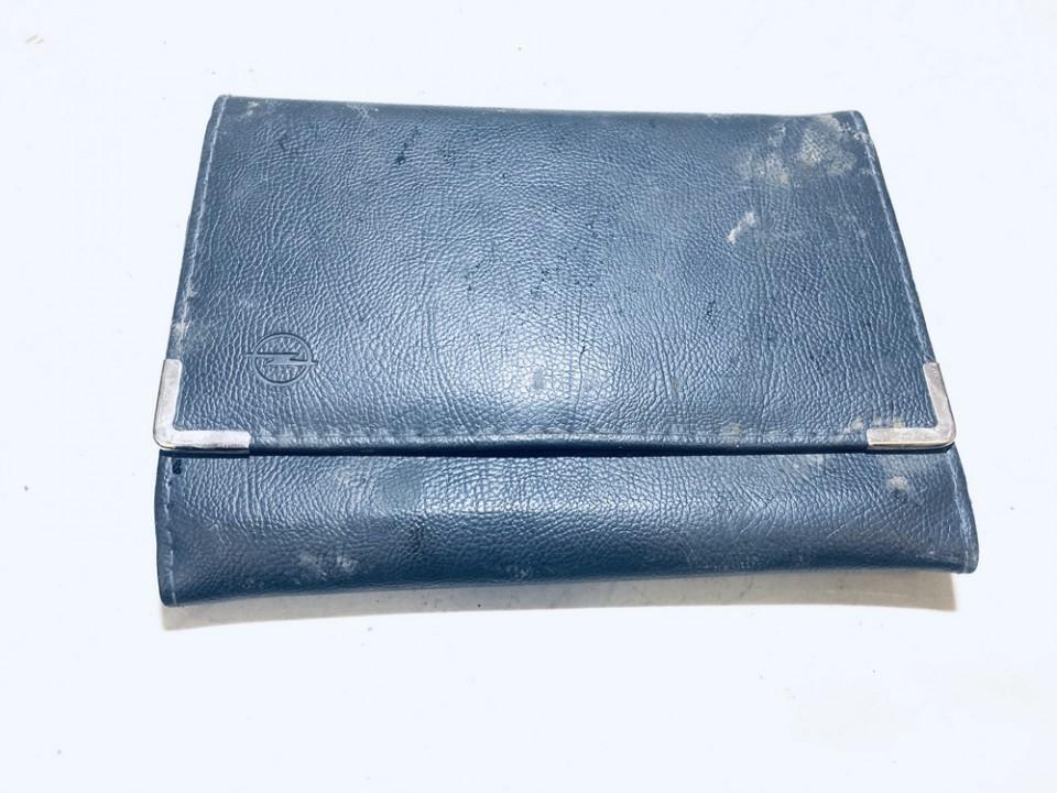 Manual Handbook Wallet (service manual) Opel Astra 2005    1.7 used