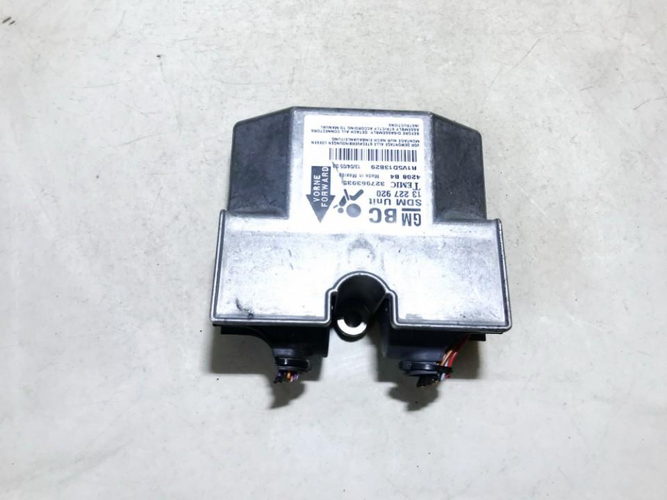 Opel  Astra Airbag crash sensors module