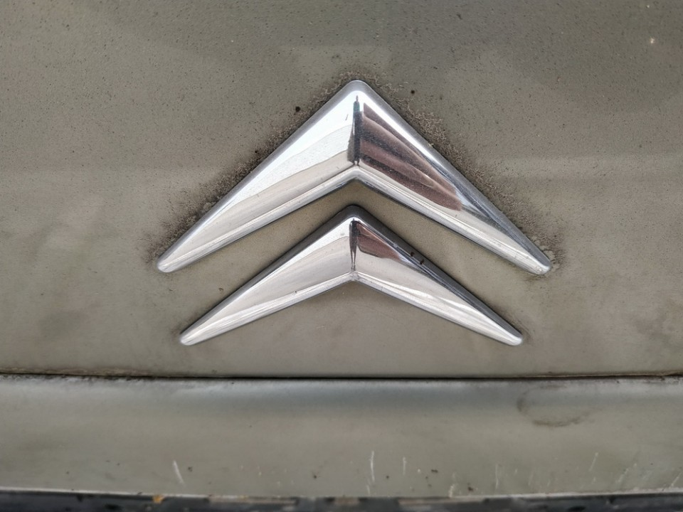 Galinis zenkliukas (Emblema) Citroen C5 2003    2.2 USED