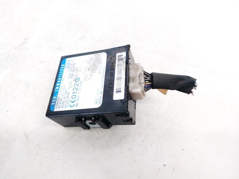 Immobiliser ECU Toyota Avensis Verso 2002    2.0 8978044030