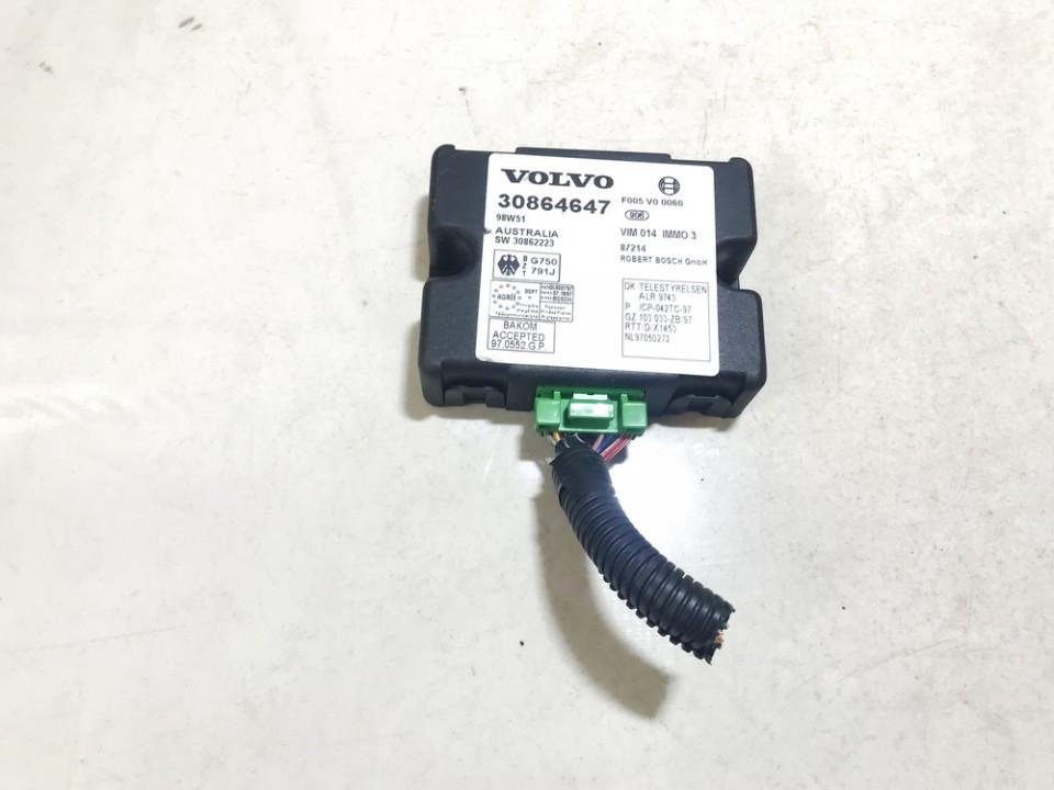 Immobiliser ECU Volvo V40 1999    1.8 30864647