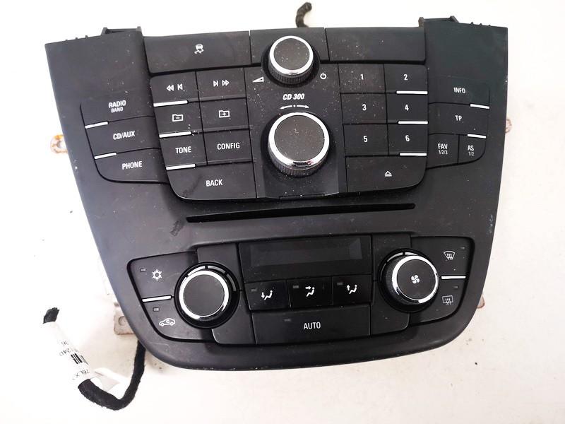 Automagnetolos valdymo konsole Opel Insignia 2009    2.0 13273252