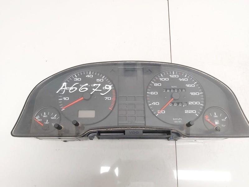Spidometras - prietaisu skydelis Audi 80 1988    1.8 893919033a