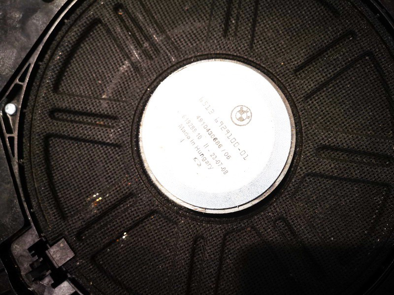 Loudspeaker (Subwoofer) BMW 5-Series 2007    0.0 65136919353404