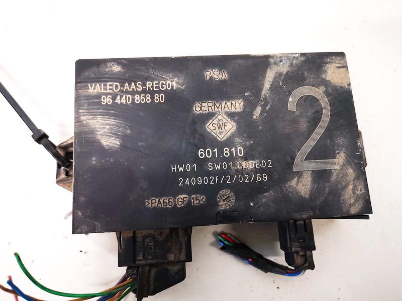 Control Unit Parking (Parking Assist Module) Citroen C3 2003    1.4 9644085880