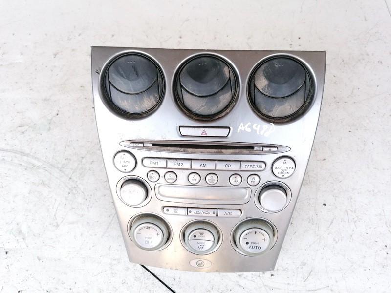 Peciuko valdymas ir automagnetola Mazda 6 2004    2.0 FF011068B