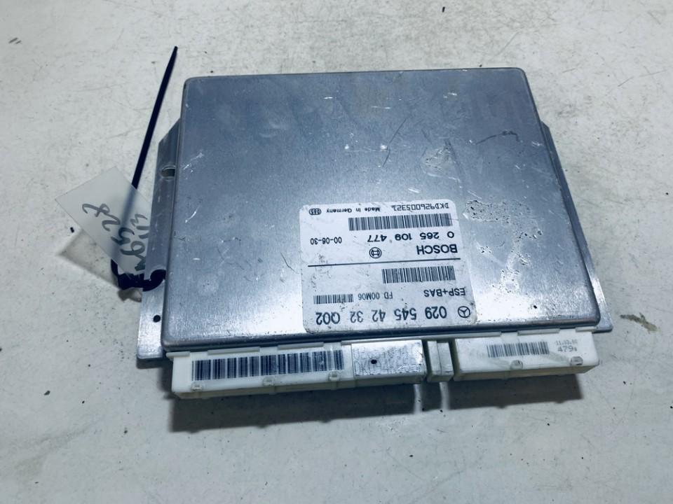 ESP Control Unit Mercedes-Benz A-CLASS 2000    1.4 0295454232