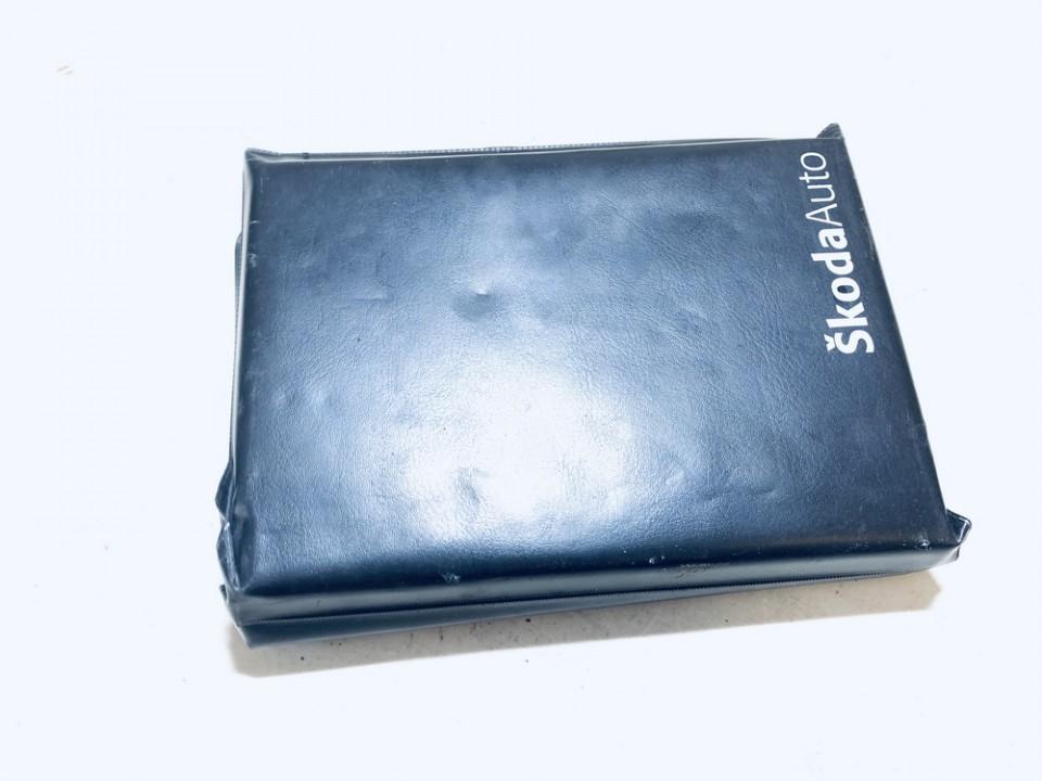 Manual Handbook Wallet (service manual) Skoda Octavia 2007    2.0 used