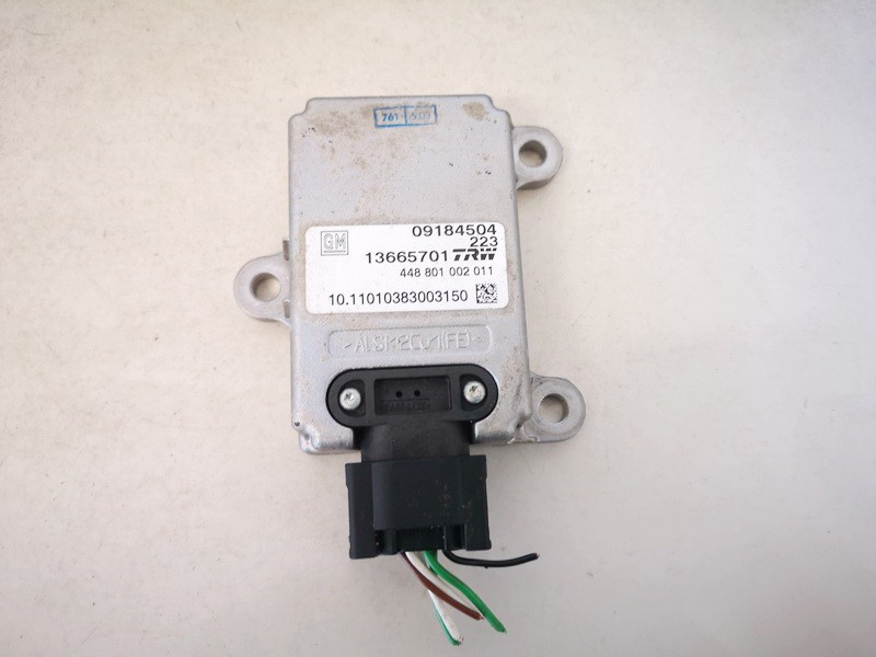 Esp Accelerator Sensor (ESP Control Unit) Opel Signum 2003    2.2 13665701