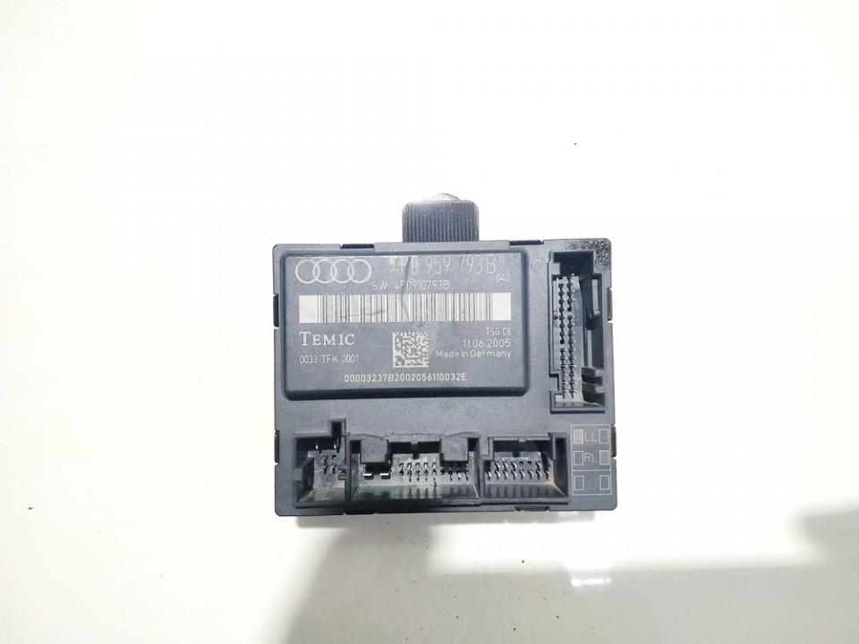 Duru valdymo blokelis Audi A6 2006    0.0 4F0959793B