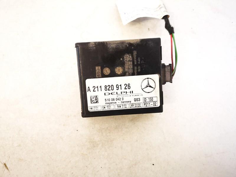 ALARM SENSOR MODULE UNIT Mercedes-Benz C-CLASS 2003    2.2 A2118209126