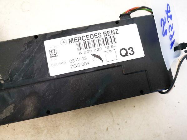 Antenna Module Unit Mercedes-Benz C-CLASS 2003    2.2 a2038207989