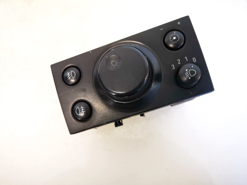 Headlight adjuster switch (Foglight Fog Light Control Switches) Opel Meriva 2003    1.6 93394755