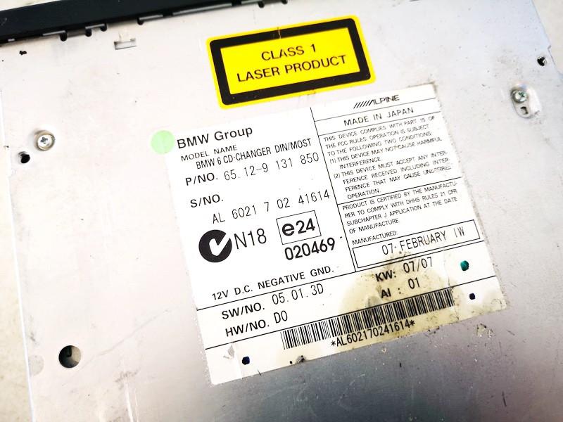 CD changers BMW 5-Series 2006    0.0 6512913185002