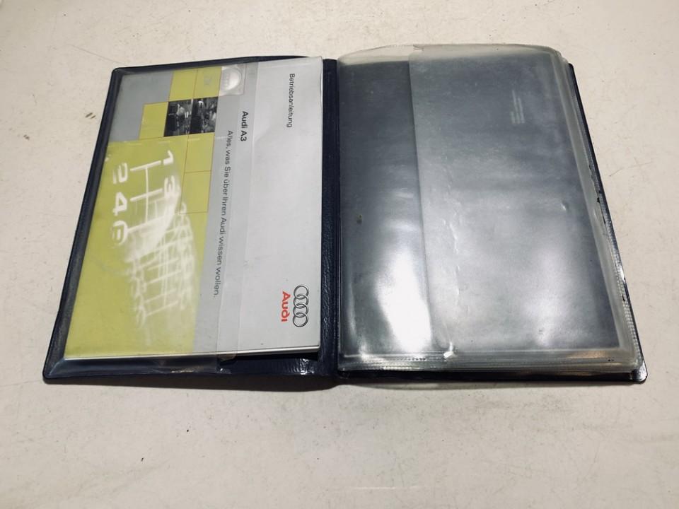 Manual Handbook Wallet (service manual) Audi A3 1997    1.8 used